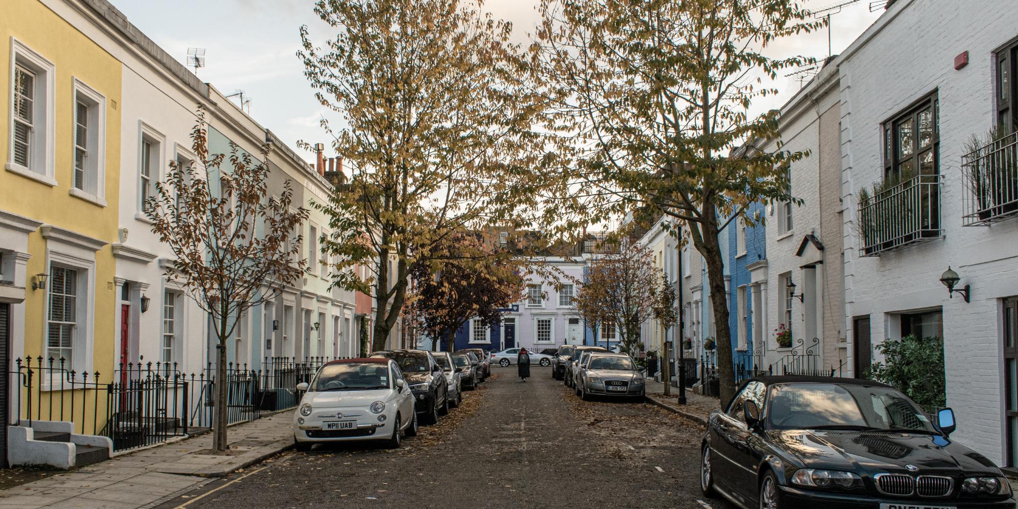 Living In Notting Hill I Gravity