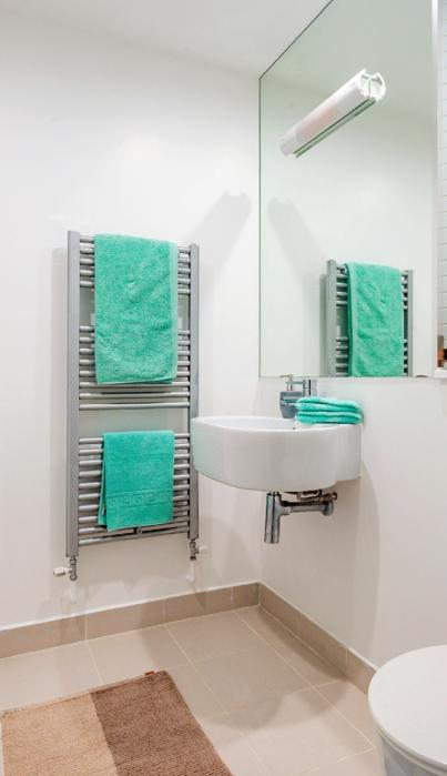 Camden Town bathrooms with showers and baths.